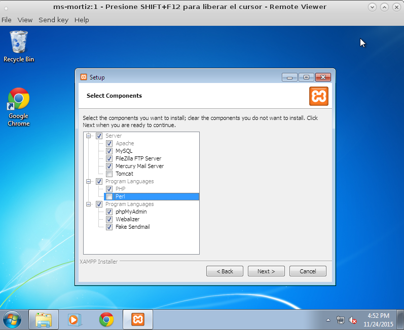 INSTALAR PERL EN WINDOWS