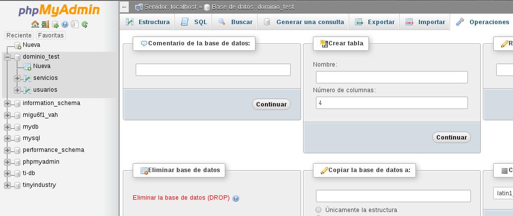 drop_database_phpmyadmin
