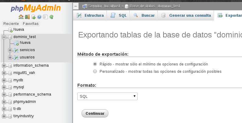 export_database_phpmyadmin